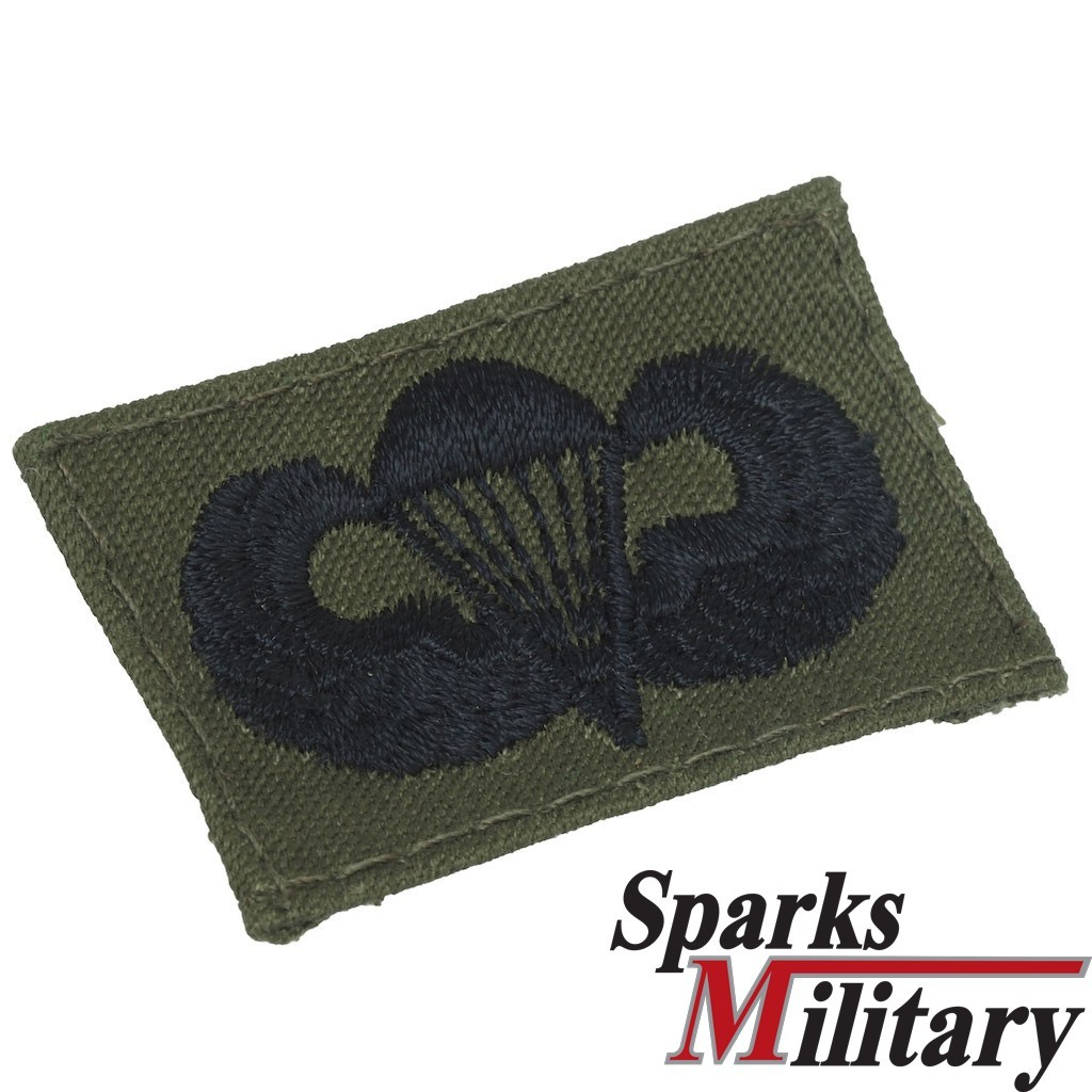 Basic Parachutist Badge OD Green