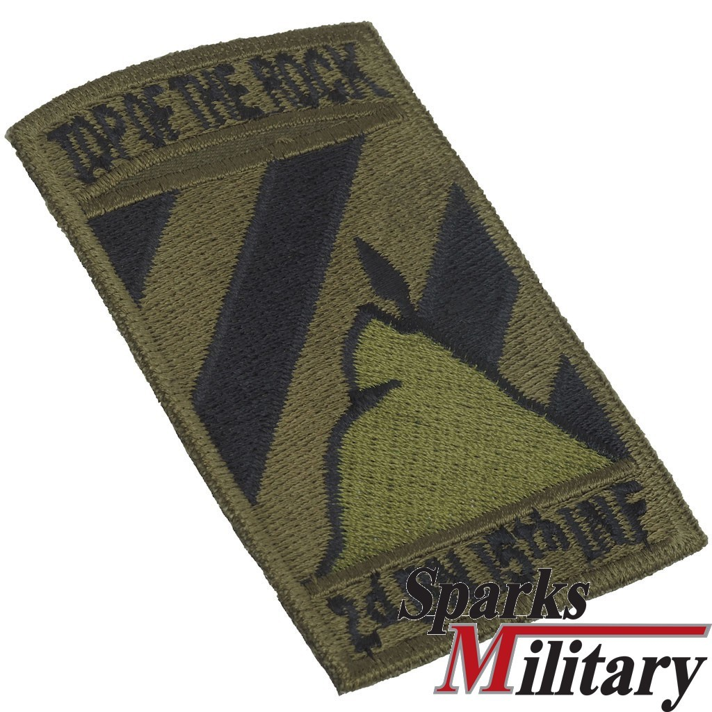 2nd Mech Bn, 15th Infantry, 3rd Infantry Division Pocket Patch