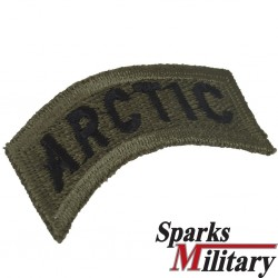 US Army Arctic Tab in od green for sew on