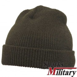 US Military OD Green Wool Watch Cap