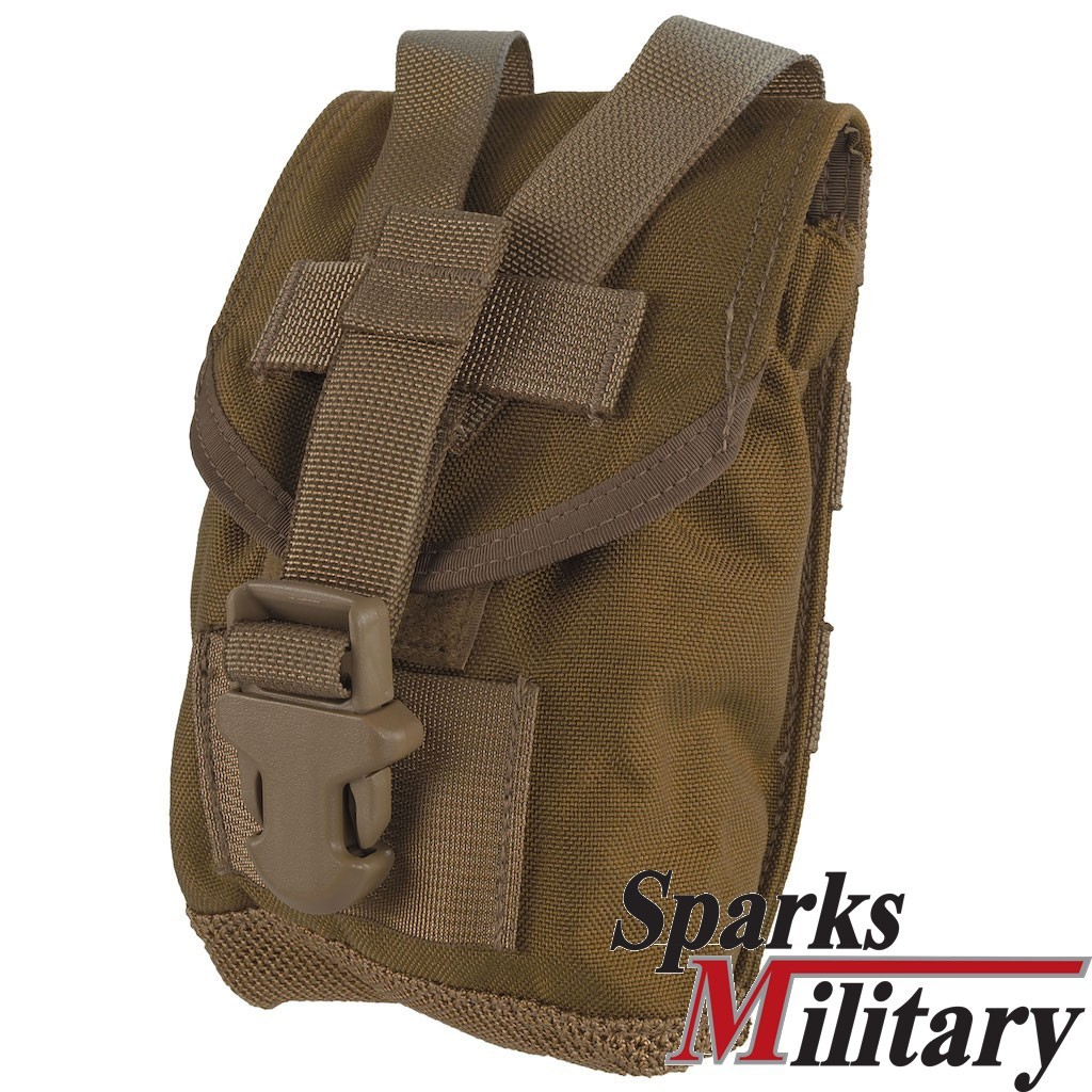 1QT Canteen Molle II Pouch Coyote