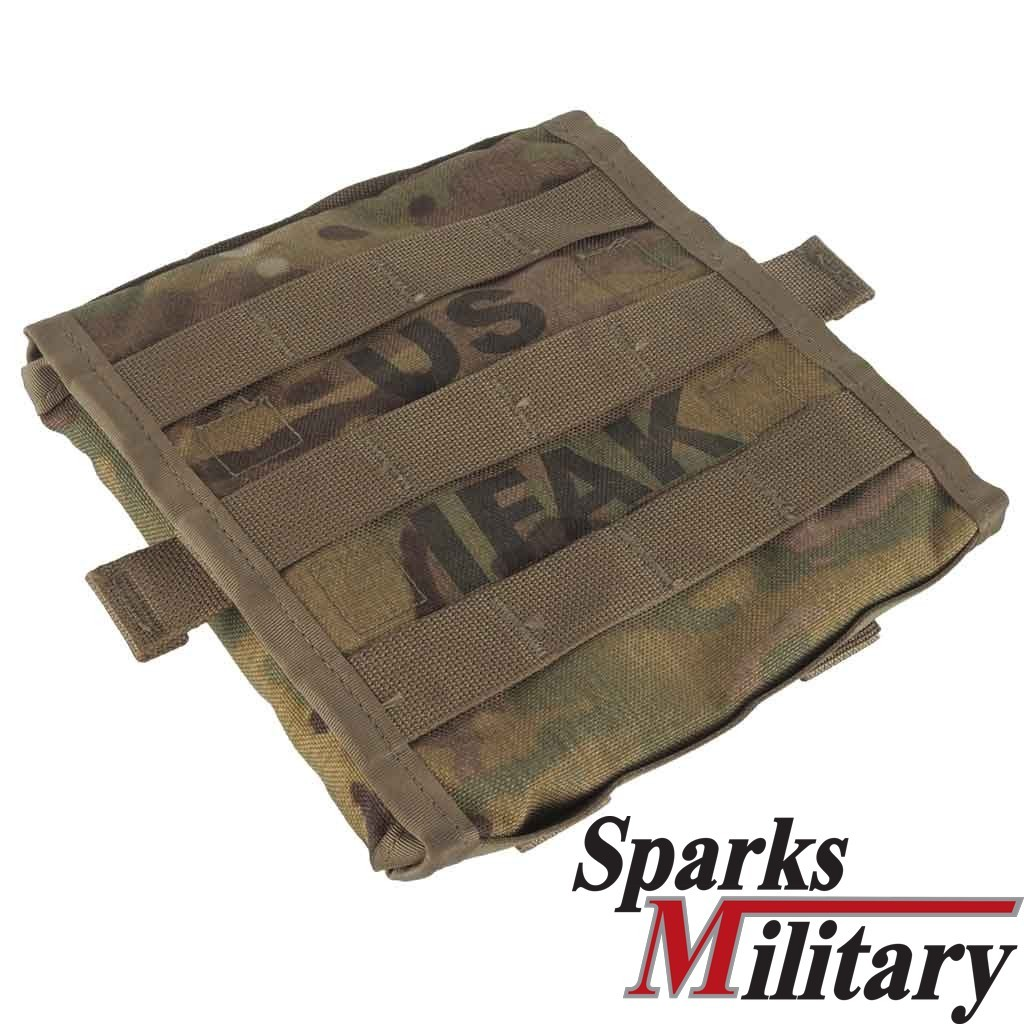 IFAK II Individual First Aid Kit Pouch with Molle II loops