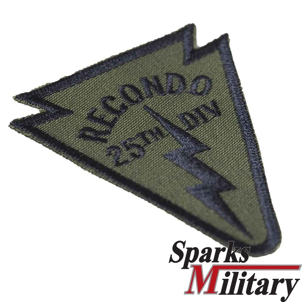 25th INFANTRY DIVISION RECONDO Pocket Patch