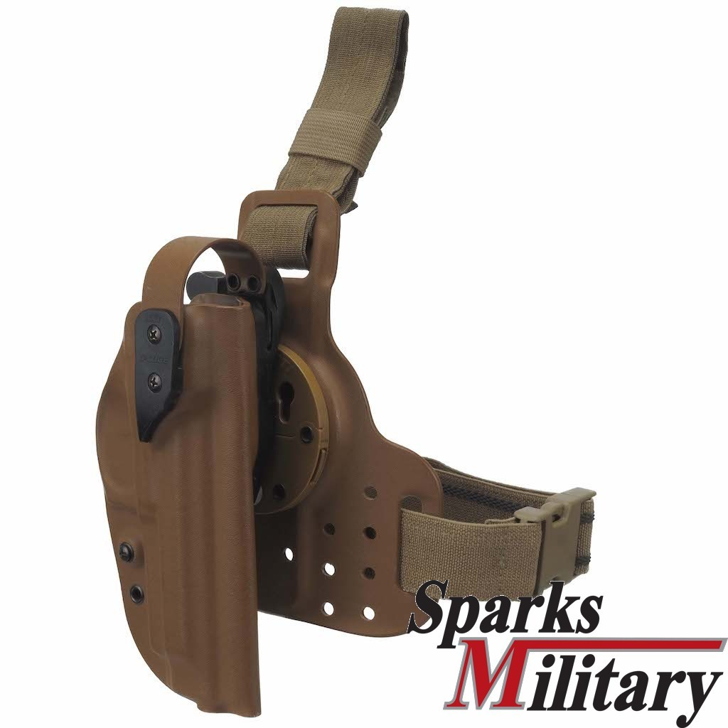 G-Code Improved Modular Tactical Pistol Holster in Coyote