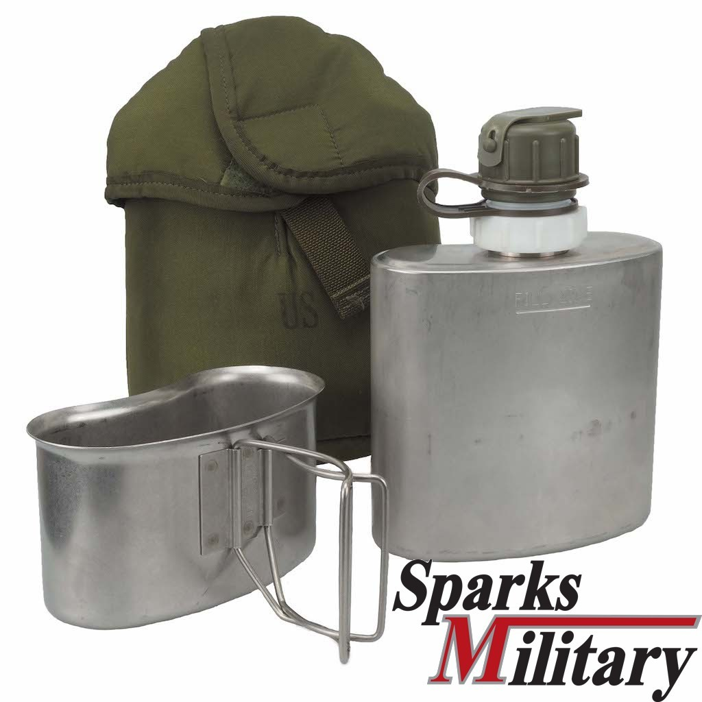 CRS Water Canteen Arctic stainless steel Natick