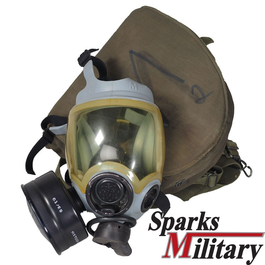 MCU-2/P Chemical and Biological Gas Mask of US Navy