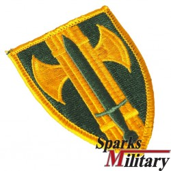 18th US Army MILITARY POLICE BRIGADE Unit Patch Insignia in color
