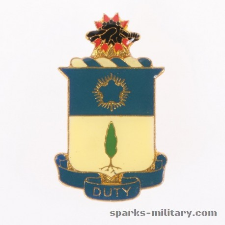 21th Infantry Regiment Crest, German Made