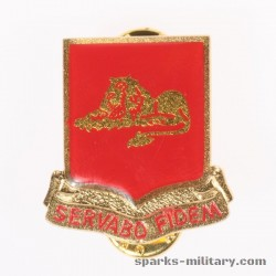 33rd Field Artillery Regiment Unit Crest, german Made