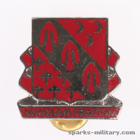 1st Battalion 7th Field Artillery Regiment Unit Crest, german Made