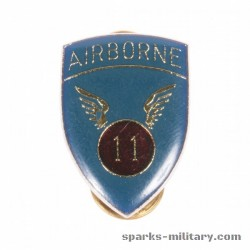 11th Airborne Division Unit Crest, german Made
