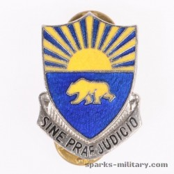 508th Military Police Battalion Unit Crest, german Made
