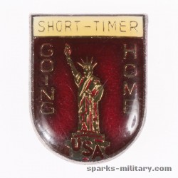 USA Short-Timer Pin