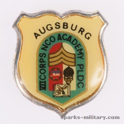 VII Corps NCO Academy PLDC Augsburg old German Made