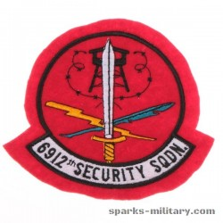 6912 Electronic Security Group (ESG) Patch, old German Made