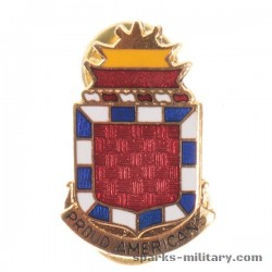 32nd Field Artillery Regiment Unit Crest, old German Made