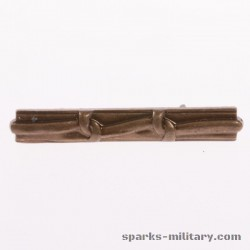 Ribbon Device Miniature Medal 2 Knot Bronze