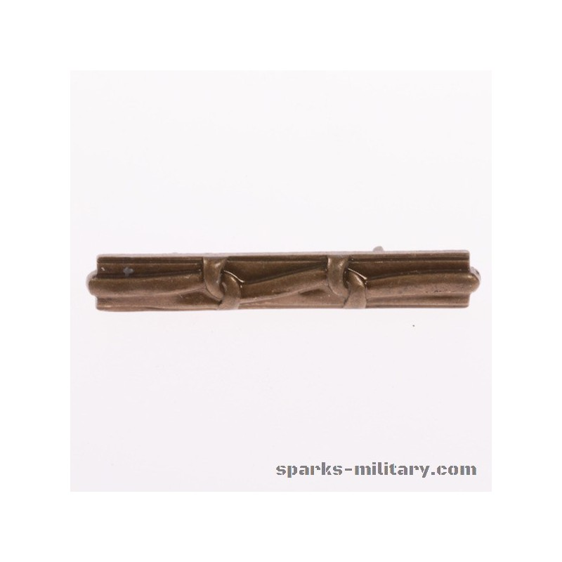 Ribbon Device Miniature Medal 2 Knot Bronze, exclusive by Sparks-Military