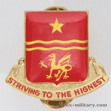 30th Field Artillery Regiment Unit Crest, german Made