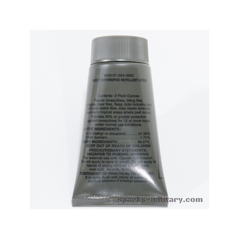 Us Army Insect Repellent Lotion Exclusive By Sparks Military