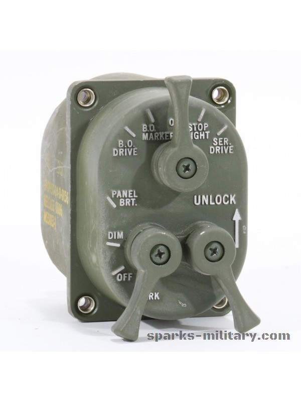 US Military M-Serie Control Assembly Light Switch