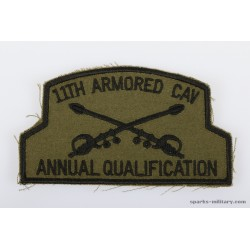 11th ACR Pocket Patch Annual Qualification