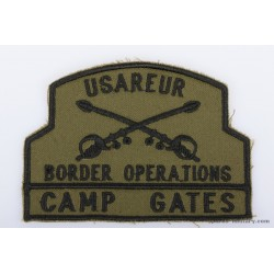 USAREUR Border Operations Pocket Patch