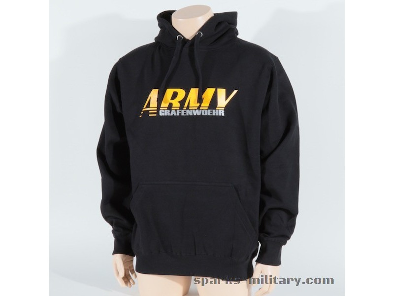 Hoodie US Army Grafenwöhr reflection