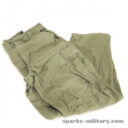 Trousers, Man's Rip-stop, Combat, Tropical, Size: Medium