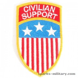 Civilian Support Group, Labor Service Patch, old German Made
