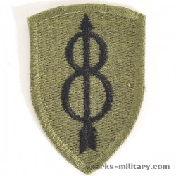 US Army 8th Infantry Division Abzeichen