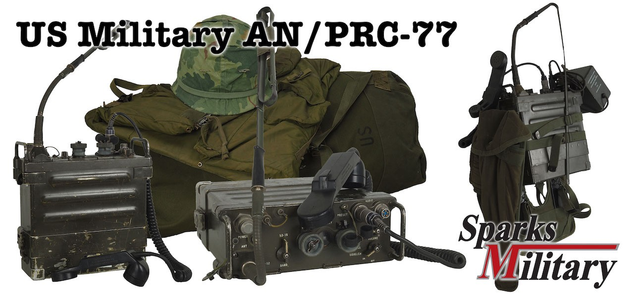 US Military Radios of Typ PRC-77