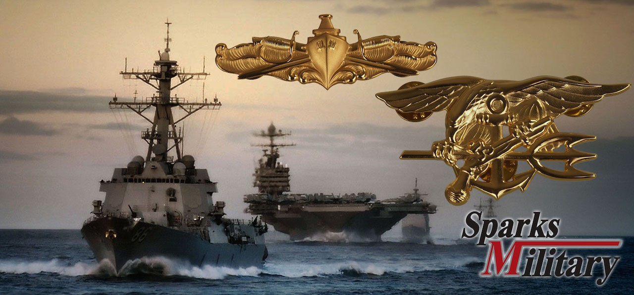 US Navy Badges and Insignias