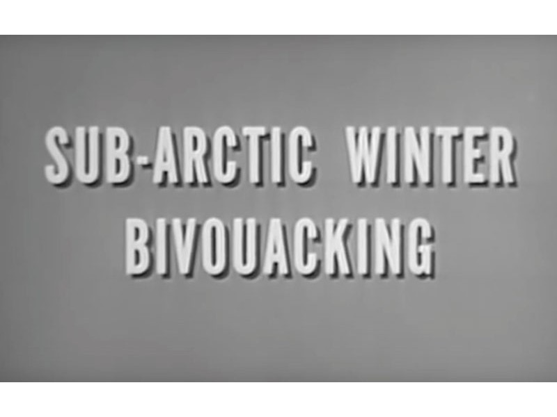 US Army Sub-Arctic Winter Bivouacking